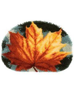 Knooppakket Knoopkleedje herfstblad van Vervaco   pn-0170508