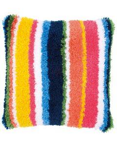 Knooppakket Knoopkussen Stripes Vervaco pn-0175290