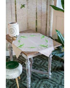 Borduurpakket tafelkleed Meiklokjes van Vervaco PN-0178209 voorbedrukt