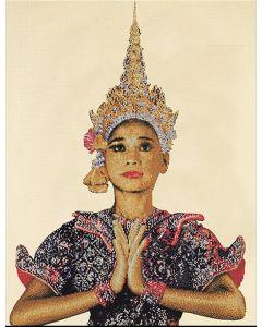 Borduurpakket Thai lady van Thea Gouverneur 421