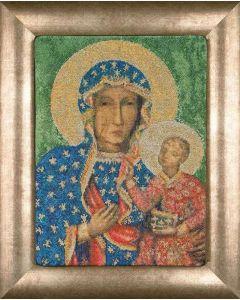 Borduurpakket Madonna of Czestochowa van Thea Gouverneur 469