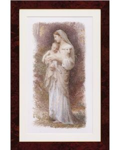 Borduurpakket MADONNA The blessed virgin Mary Thea gouverneur 560