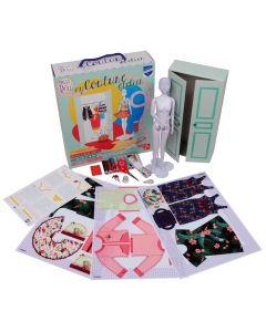 Leren naaien wordt kinderspel met My Couture Atelier Dress your doll