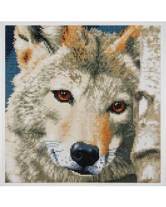 Diamond Painting pakket wolf van Lanarte PN-0184321