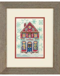 Dimensions borduurpakket holiday home borduren 70-08988