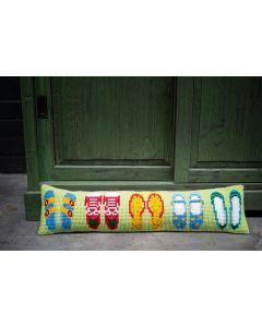 Borduurpakket tochtkussen zomerschoenen Vervaco pn-0188105