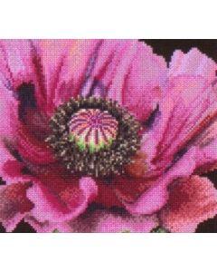 Borduurpakket papaver Thea Gouverneur 491 poppy