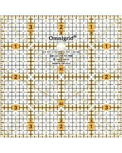 Prym universele liniaal 4x4 inch raster