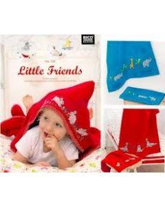 Borduurboek little friends  No.126 van Rico Design
