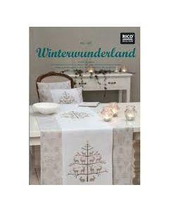 Rico Design borduurboek winter wonderland Nr.128