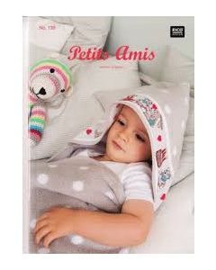 Rico Design borduurboek Petits Amis Nr.139 met geboorte borduurpatronen