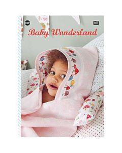 Rico Design borduurboek Baby Wonderland Nr.149 met borduurpatronen voor geboorte
