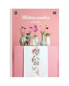 Rico Design borduurboek Bloemenpracht Nr.153