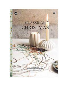Rico Design borduurboek Claccical Christmas Nr.160 met kerst borduurpatronen