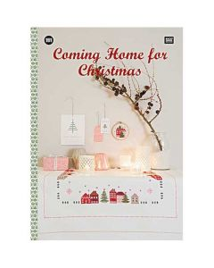 Rico Design borduurboek Coming home for Christmas Nr.151 met kerst borduurpatronen