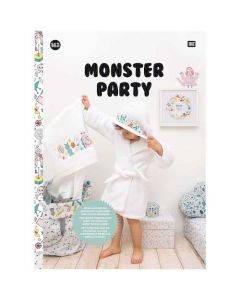 Rico Design borduurboek Monster Party Nr.163 met borduurpatronen