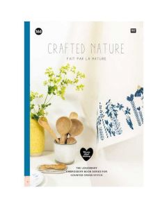 Rico Design borduurboek Natuur - Crafted Nature Nr.166 met borduurpatronen