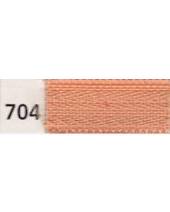 Opti Ritssluiting deelbaar bloktand kl.704 Huidskleur