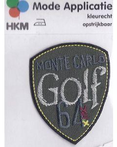 Groene applicatie met de tekst Monte Carlo Golf 64.