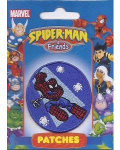 Spiderman rond applicatie van Disney