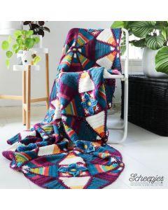 Scheepjes Royal Garden Blanket haken van Colour Crafter