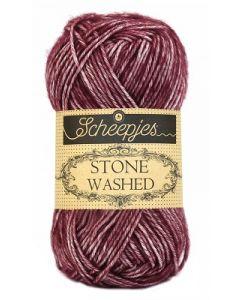 Garen Stone Washed van Scheepjes  kl.810 paars