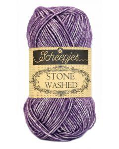 Garen Stone Washed van Scheepjes  kl.811 lila