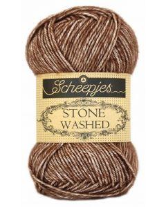 Stone Washed van Scheepjeswol, kl.822 brown agate