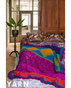 Scheepjes Morris Blanket deken van Chunky Monkey uit Yarn 12