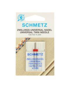 Schmetz naaimachine tweelingnaald universal 4.0/80
