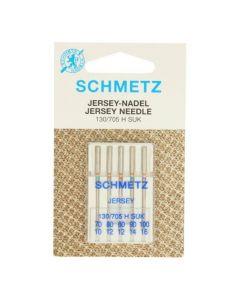Schmetz naaimachinenaalden Jesey 70/10 t/m 100/16