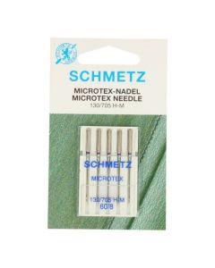 Schmetz naaimachinenaalden microtex 60/08