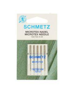 Schmetz naaimachinenaalden microtex 70/10