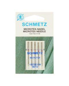 Schmetz naaimachinenaalden microtex 80/12