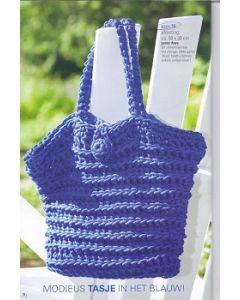 Haakpakket  tas Anya van schoeller # stahl wol,