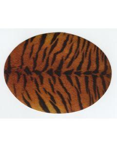 Kniestukken/elleboogstukken opstrijkbaar tijgerprint