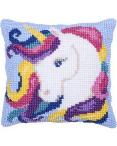 Borduurpakket kussenpakket Unicorn Needleart World LH9.008
