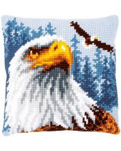 Vervaco borduurkussen adelaar pn-0180284