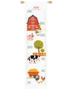 Vervaco borduurpakket groeimeter op de boerderij pn-0162766