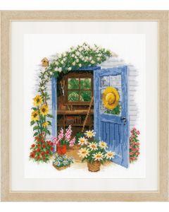 Vervaco borduurpakket mijn tuinhuis borduren pn-0169585