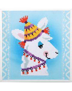 Vervaco diamond painting Lama incl. frame voor kinderen PN-0179851