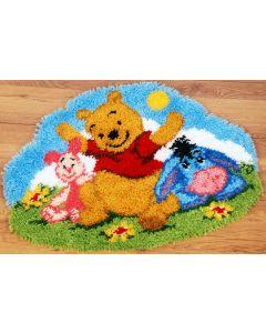 Vervaco Disney knooppakket Winnie the Pooh luie namiddag kleed pn-0144844