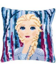Vervaco Disney kruissteekkussen Frozen II Elsa borduren pn-0182622