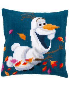 Vervaco Disney kruissteekkussen Frozen II Olaf borduren pn-0182776