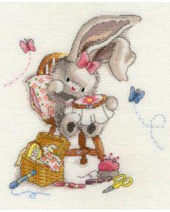 Borduurpakket  Bebunni - borduren met liefde om te borduren Bothy Threads xbb2