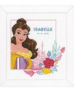 Enchanted Beauty Belle met telpatroon Disney prinsessen