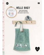 Borduurboek hello baby No.167 van Rico Design 23767.00.00