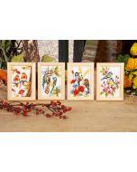 Vervaco 4 borduurpakketten de 4 seizoenen borduren pn-0147602