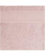 Rico Design handdoek met aida rand om te borduren bleekroze 740268.18
