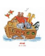 Vervaco borduurpakket geboortetegel Ark van Noë borduren pn-0143716